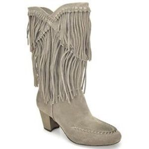 "7 For All Mankind Fringe ""Caddie"" Boot"
